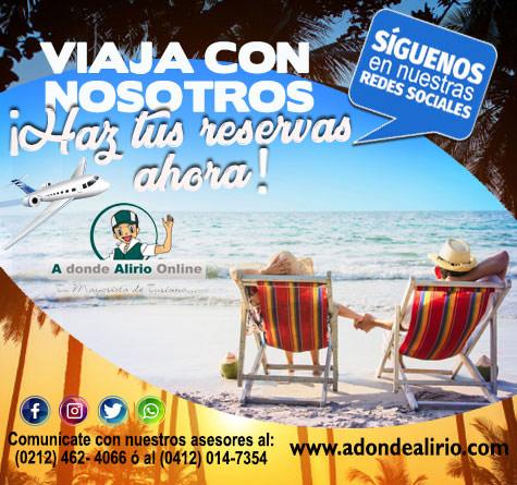 A DONDE ALIRIO