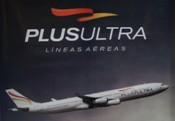 Plus Ultra Líneas Aéreas se viste de rosa